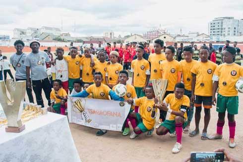 Football – « Coupe du Nelson Mandela » : Tsarahofana Fianarantsoa et Avenir Betongolo sacrés champions