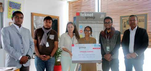 Concours Robotique : Teknet Group soutient l'équipe malgache