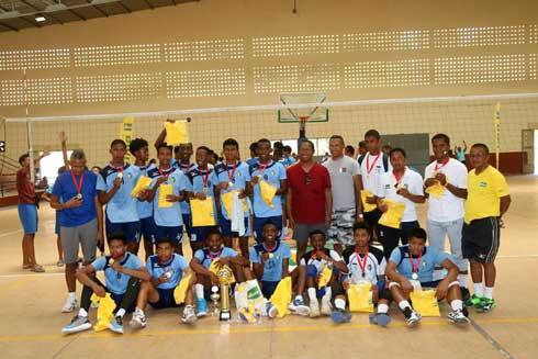 Volley-ball – Coupe de Madagascar jeunes : GNVB triomphe en U20 garçons