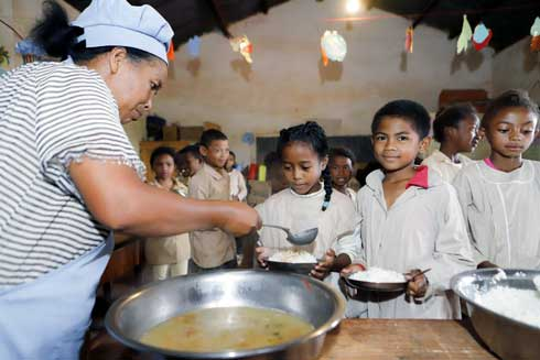 EPP Ankadindambo à Ambohimangakely : L'alimentation scolaire endogène soutenue par le projet TaFiTa