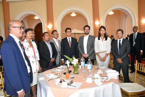 Andry Rajoelina : Rencontre périodique avec la presse