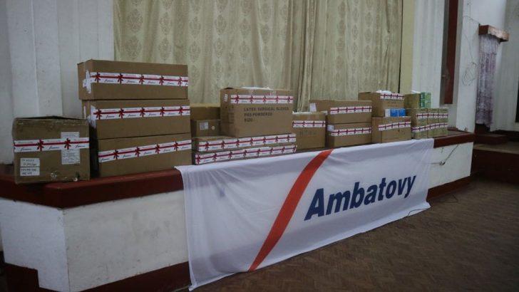 Toamasina – COVID-19 : Matériels médicaux pour la DRS Atsinanana par Ambatovy