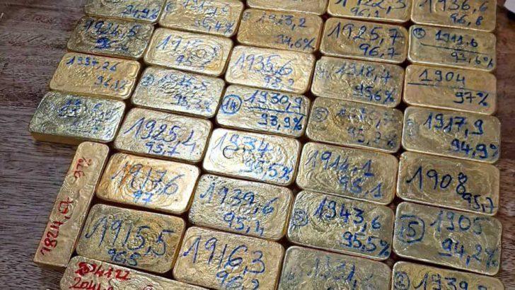 Saisie de 73,5kg d'or :Ouverture d'enquête du ministère des Mines
