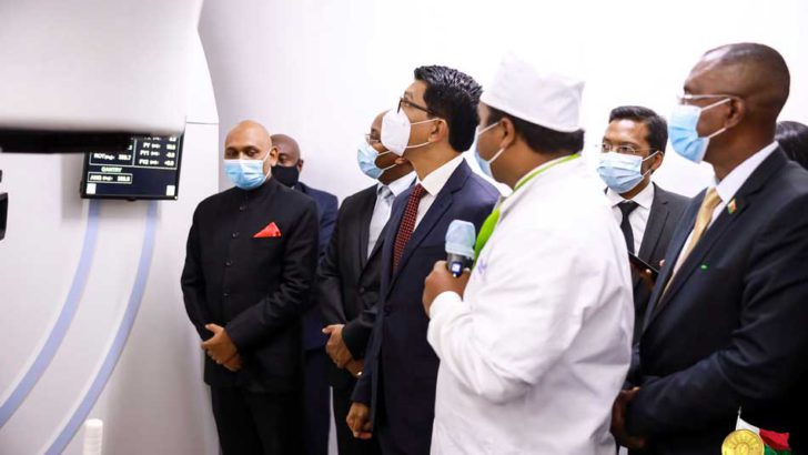 Befelatanana : Andry Rajoelina inaugure le premier centre public de traitement du cancer