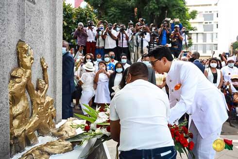 Andry Rajoelina : « La date du 7 février ne sera jamais oubliée »