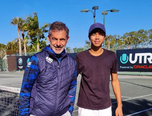 Tennis – L'académie Sanchez – Casal : Sampras Rakotondraibe prend ses marques