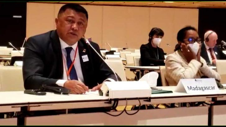 Herimanana Razafimahefa à Vienne :«Succès de la lutte contre le Coronavirusà Madagascar»