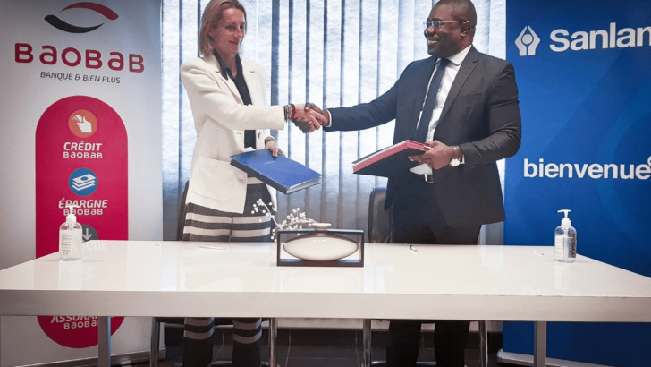 Partenariat entre Sanlam Madagascar et Baobab Banque Madagascar